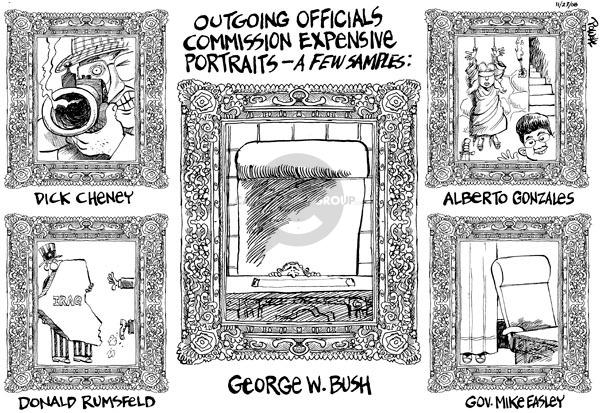 Dwane Powell  Dwane Powell's Editorial Cartoons 2008-10-23 Iraq war