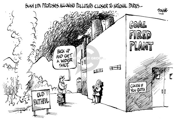 Dwane Powell  Dwane Powell's Editorial Cartoons 2008-11-25 environment