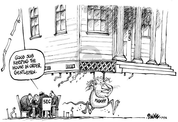 Dwane Powell  Dwane Powell's Editorial Cartoons 2008-12-22 stock market