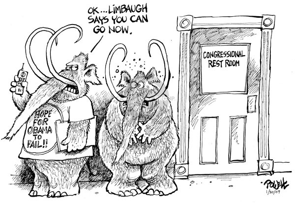 Cartoonist Dwane Powell  Dwane Powell's Editorial Cartoons 2009-01-30 recession