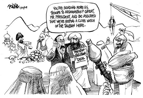 Cartoonist Dwane Powell  Dwane Powell's Editorial Cartoons 2009-02-26 leader