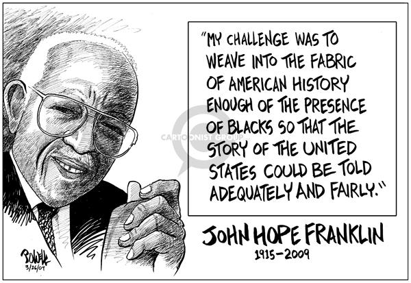 Dwane Powell  Dwane Powell's Editorial Cartoons 2009-03-26 civil rights