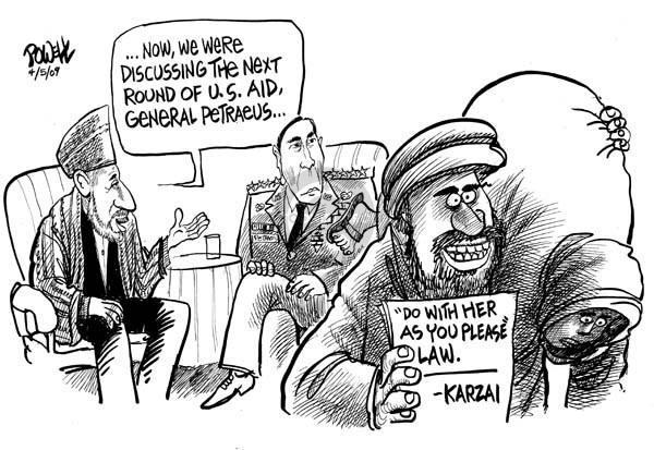 Dwane Powell  Dwane Powell's Editorial Cartoons 2009-04-06 civil rights