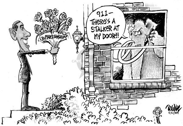 Dwane Powell  Dwane Powell's Editorial Cartoons 2009-08-24 911