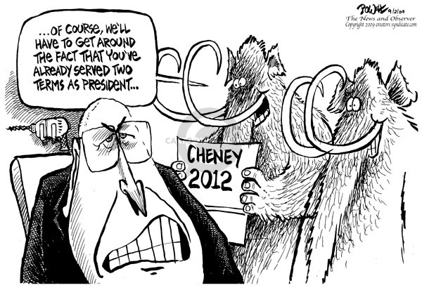 Cartoonist Dwane Powell  Dwane Powell's Editorial Cartoons 2009-09-03 bush