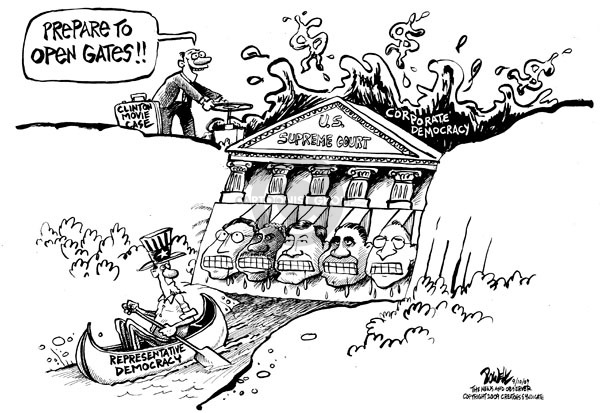 Dwane Powell  Dwane Powell's Editorial Cartoons 2009-09-10 Supreme Court