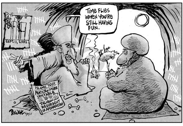 Cartoonist Dwane Powell  Dwane Powell's Editorial Cartoons 2009-09-11 time