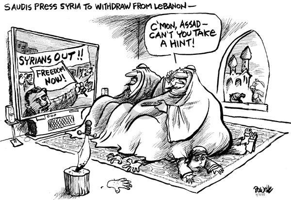 Dwane Powell  Dwane Powell's Editorial Cartoons 2005-03-03 duplicity