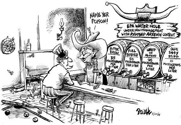 Dwane Powell  Dwane Powell's Editorial Cartoons 2001-03-22 environment