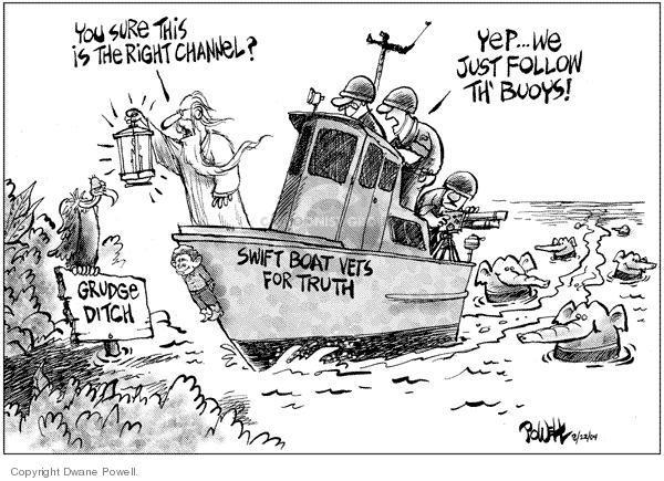 Dwane Powell  Dwane Powell's Editorial Cartoons 2004-08-24 2004