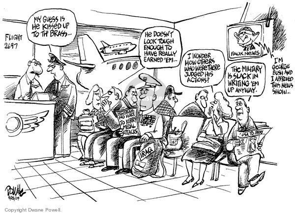 Dwane Powell  Dwane Powell's Editorial Cartoons 2004-08-26 2004