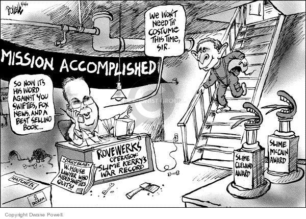 Dwane Powell  Dwane Powell's Editorial Cartoons 2004-08-27 2004