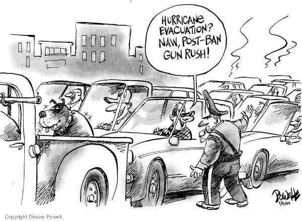 Cartoonist Dwane Powell  Dwane Powell's Editorial Cartoons 2004-09-20 ban