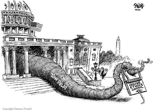 Cartoonist Dwane Powell  Dwane Powell's Editorial Cartoons 2004-10-11 leader