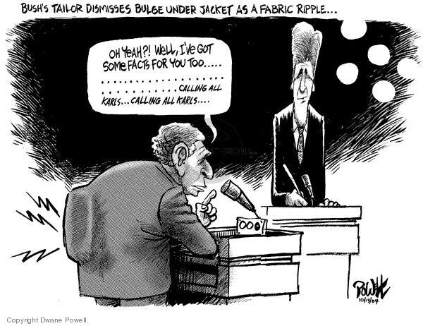 Dwane Powell  Dwane Powell's Editorial Cartoons 2004-10-14 2004