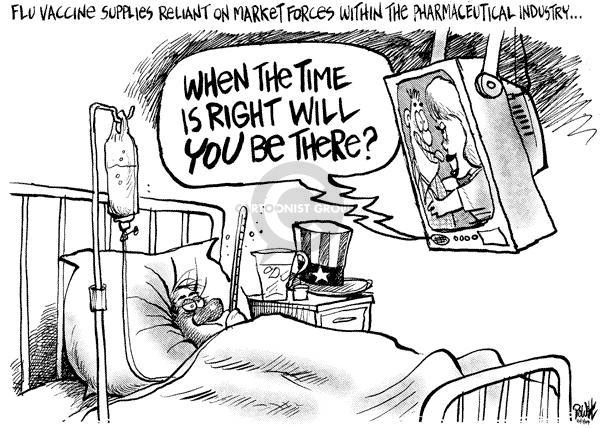 Cartoonist Dwane Powell  Dwane Powell's Editorial Cartoons 2004-10-20 medicine