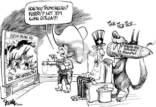 Dwane Powell  Dwane Powell's Editorial Cartoons 2004-10-26 2004