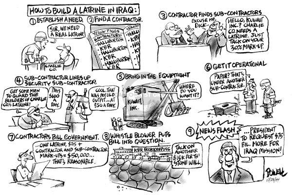 Dwane Powell  Dwane Powell's Editorial Cartoons 2004-11-02 Kuwait