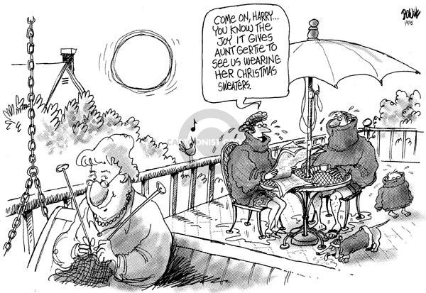 Cartoonist Dwane Powell  Dwane Powell's Editorial Cartoons 2005-01-07 family