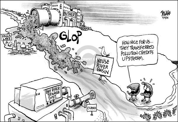 Dwane Powell  Dwane Powell's Editorial Cartoons 2005-03-18 environment