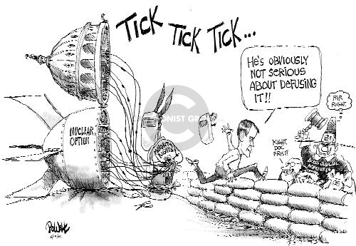 Cartoonist Dwane Powell  Dwane Powell's Editorial Cartoons 2005-05-16 majority