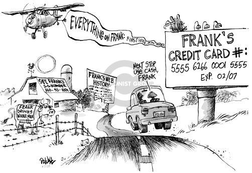 Cartoonist Dwane Powell  Dwane Powell's Editorial Cartoons 2005-06-21 credit