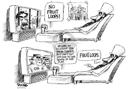 Cartoonist Dwane Powell  Dwane Powell's Editorial Cartoons 2005-06-22 CIA