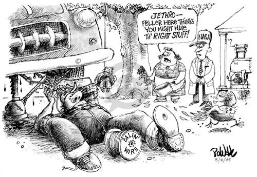 Dwane Powell  Dwane Powell's Editorial Cartoons 2005-08-04 Jethro