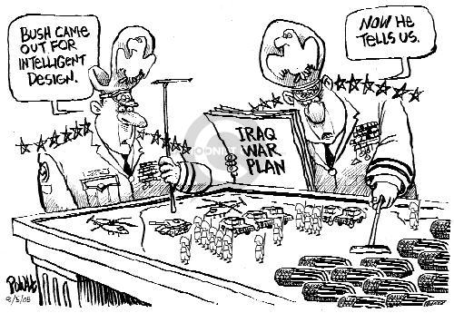 Cartoonist Dwane Powell  Dwane Powell's Editorial Cartoons 2005-08-05 leadership