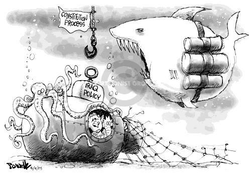 Cartoonist Dwane Powell  Dwane Powell's Editorial Cartoons 2005-08-09 Constitution