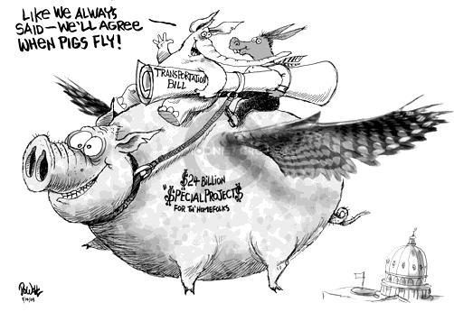 Cartoonist Dwane Powell  Dwane Powell's Editorial Cartoons 2005-08-14 bipartisan