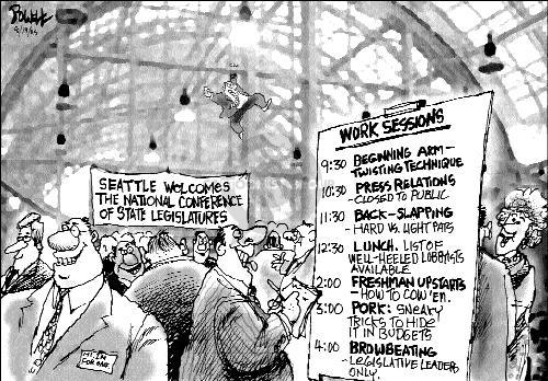 Cartoonist Dwane Powell  Dwane Powell's Editorial Cartoons 2005-08-19 leader