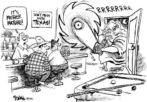 Dwane Powell's Editorial Cartoons - Nature Comics And