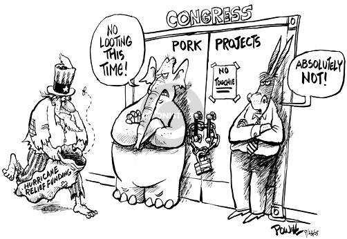 Cartoonist Dwane Powell  Dwane Powell's Editorial Cartoons 2005-09-23 time