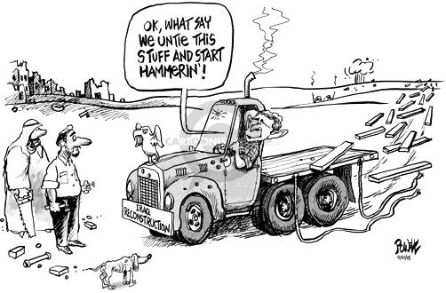 Cartoonist Dwane Powell  Dwane Powell's Editorial Cartoons 2005-10-20 leadership
