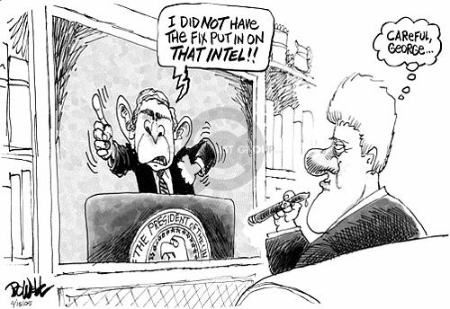 Cartoonist Dwane Powell  Dwane Powell's Editorial Cartoons 2005-11-15 leadership