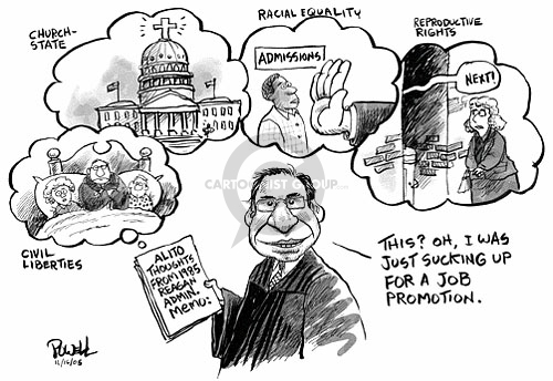 Dwane Powell  Dwane Powell's Editorial Cartoons 2005-11-16 Supreme Court
