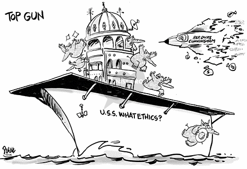 Cartoonist Dwane Powell  Dwane Powell's Editorial Cartoons 2005-12-01 ethics