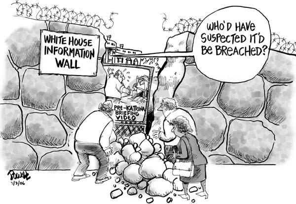 Cartoonist Dwane Powell  Dwane Powell's Editorial Cartoons 2006-03-06 leadership