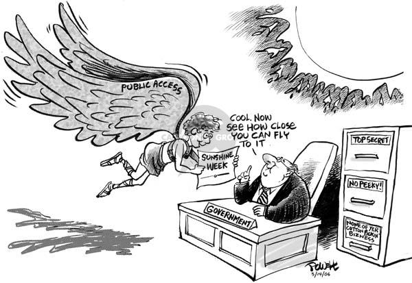 Dwane Powell  Dwane Powell's Editorial Cartoons 2006-03-15 civil rights