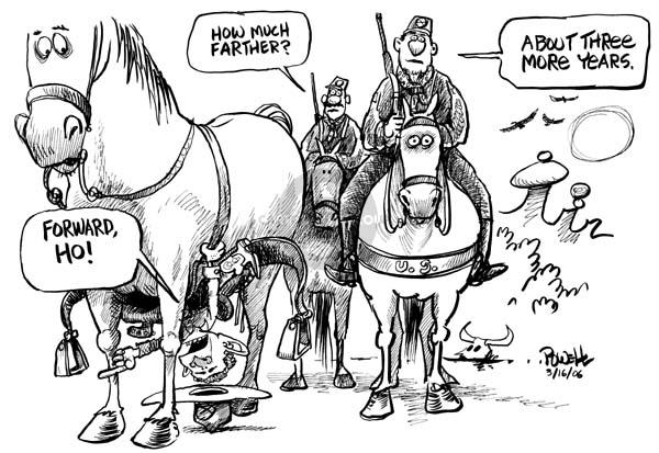 Cartoonist Dwane Powell  Dwane Powell's Editorial Cartoons 2006-03-17 length