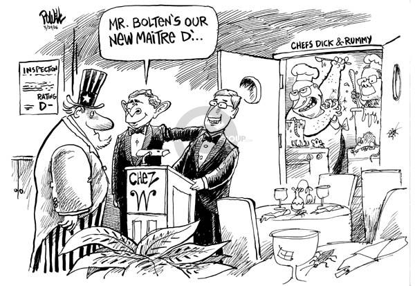 Cartoonist Dwane Powell  Dwane Powell's Editorial Cartoons 2006-03-29 Joshua Bolten