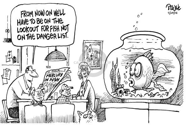 Cartoonist Dwane Powell  Dwane Powell's Editorial Cartoons 2006-04-26 family