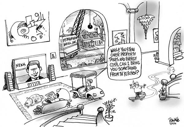 Dwane Powell  Dwane Powell's Editorial Cartoons 2006-05-03 environment