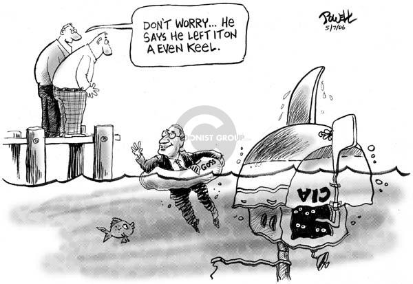 Cartoonist Dwane Powell  Dwane Powell's Editorial Cartoons 2006-05-08 CIA