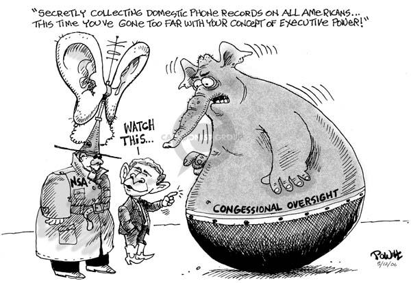 Cartoonist Dwane Powell  Dwane Powell's Editorial Cartoons 2006-05-12 time