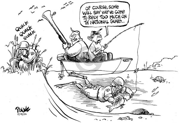Cartoonist Dwane Powell  Dwane Powell's Editorial Cartoons 2006-05-18 national
