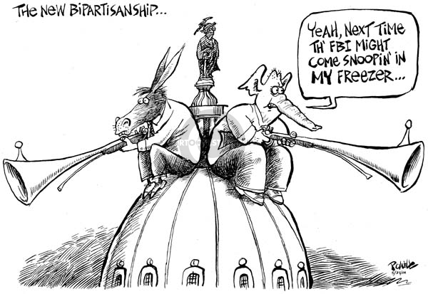 Cartoonist Dwane Powell  Dwane Powell's Editorial Cartoons 2006-05-30 republican politician