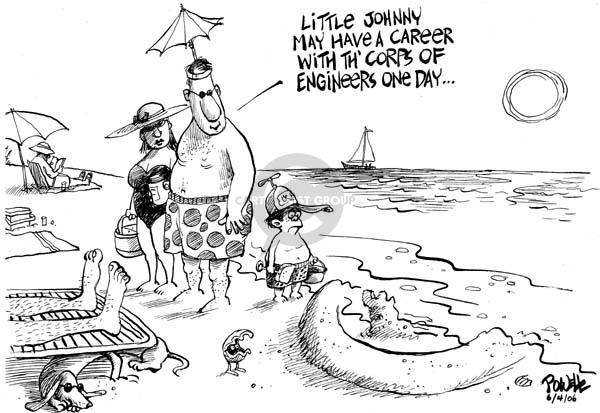 Dwane Powell  Dwane Powell's Editorial Cartoons 2006-06-04 incompetence