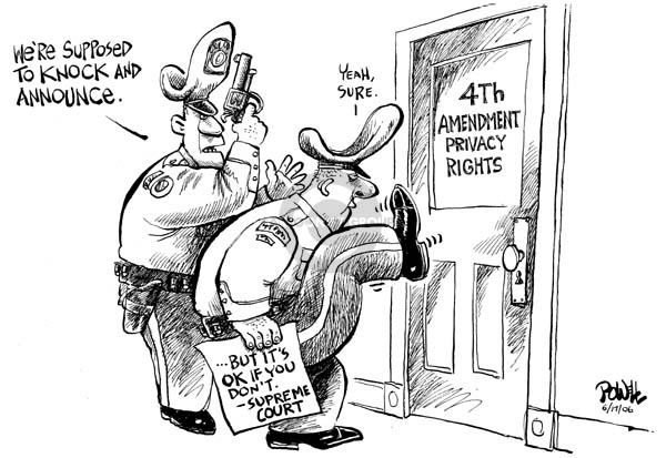 Dwane Powell  Dwane Powell's Editorial Cartoons 2006-06-19 civil rights